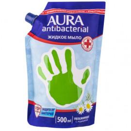 Жидкое мыло Aura с антибактериальным эффектом с ромашкой (500 мл) от 1st 35743 фото