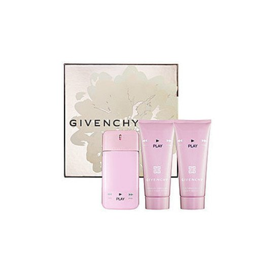 Givenchy Play for Her (туал.духи 75 +лосьон дтела 75 +гель ддуша 75) мл (жен)