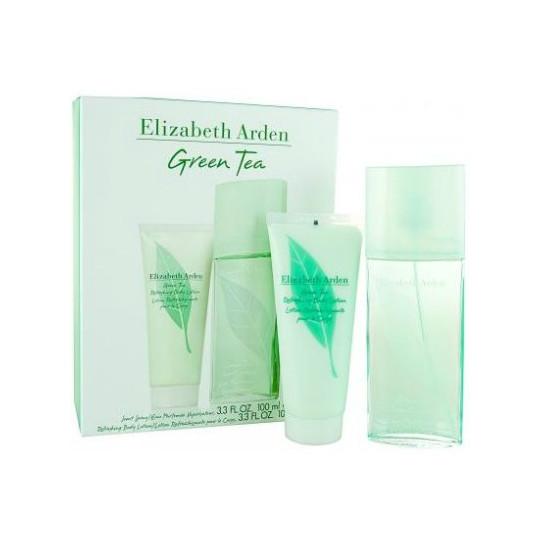 Elizabeth Arden Green Tea (туал.духи 100 + лосьон дтела 100) мл (жен)