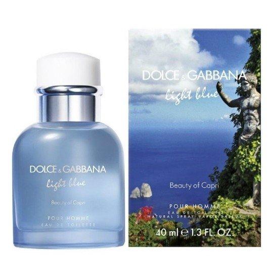 Light Blue Pour Homme Beauty of Capri Light Blue Pour Homme Beauty of Capri 40 мл (муж)