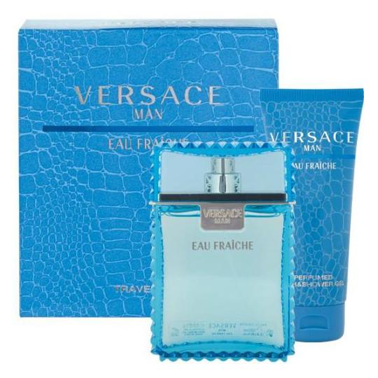 Versace Men Eau Fraiche Versace Men Eau Fraiche (туал. вода 30 + гель д/душа 50) мл (муж)