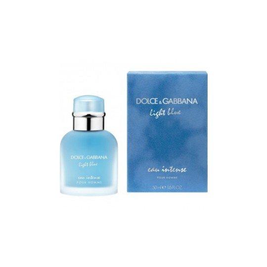 Light Blue Eau Intense Pour HommeDolce And Gabbana<br>Год выпуска: 2017 Производство: Великобритания Семейство: древесные водяные Верхние ноты:  мандарин, грейпфрут Средние ноты:  Морская вода, Можжевельник Базовые ноты:  древесный янтарь, Мускус Light Blue Eau Intense Pour Homme Dolce&amp;amp;Gabbana &amp;mdash; это аромат для мужчин, он принадлежит к группе древесные водяные. Это новое издание: Light Blue Eau Intense Pour Homme выпущен в 2017 году. Парфюмер: Alberto Morillas. Верхние ноты: Мандарин и Грейпфрут; средние ноты: Морская вода и Можжевельник; базовые ноты: Древесный янтарь и Мускус.&amp;nbsp;<br><br>Линейка: Light Blue Eau Intense Pour Homme<br>Объем мл: 50<br>Пол: Мужской<br>Аромат: древесные водяные<br>Ноты: мандарин, грейпфрут,  Морская вода, Можжевельник,  древесный янтарь, Мускус<br>Тип: парфюмерная вода<br>Тестер: нет