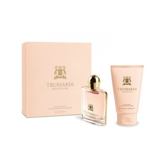 Trussardi Delicate Rose (туал.вода 50 + лосьон д/тела 100) мл (жен)
