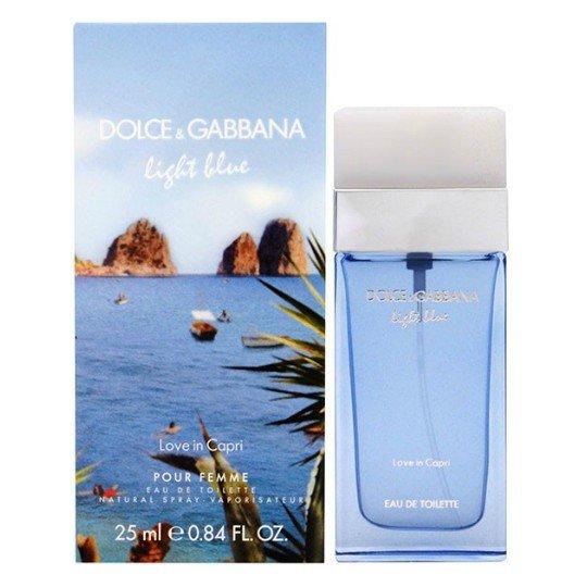 Dolce And Gabbana Light Blue Love in Capri 25 мл (жен)
