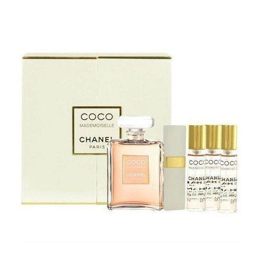 Chanel Coco Mademoiselle (таул.духи 50 + туал.духи 4*7,5) мл (жен)