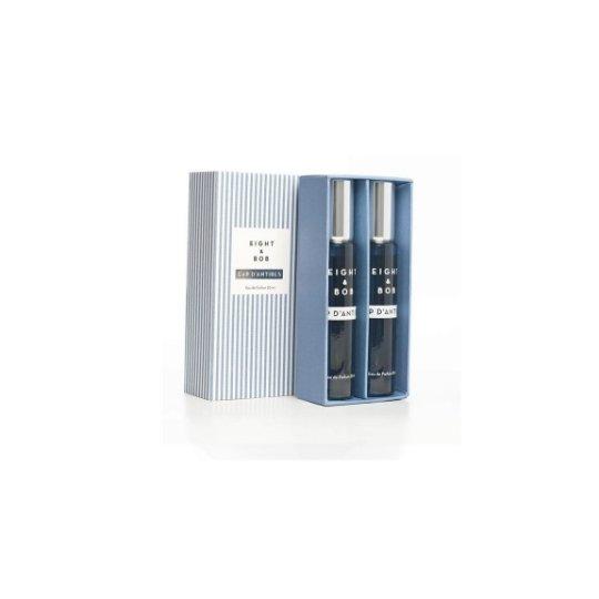 Cap dAntibesEIGHT &amp; BOB<br>Производство: США Cap dAntibes от EIGHT &amp;amp; BOB - это аромат для мужчин, принадлежит к группе ароматов фужерные. Этот аромат, Cap dAntibes выпущен в 2014 году. Верхние ноты: мята, лист фиалки и береза; ноты сердца: корица, дубовый мох и зеленые ноты; ноты базы: белый кедр, ладан и ваниль.<br><br>Линейка: Cap dAntibes<br>Объем мл: Refill (2*20)<br>Пол: Мужской