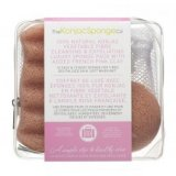 Gift Sponge Bag Duo Pack With Pink Clay The Konjac Sponge Co 15526 фото