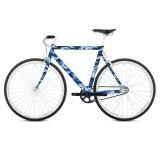 Наклейка на раму велосипеда camouflage 23668 фото