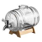 Диспенсер для напитков barrel на подставке 1 л в подарочной упаковке 24696 фото
