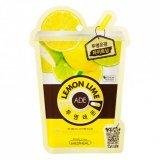 Маска для лица освежающая витаминная Lemon Ade Mask 26877 фото