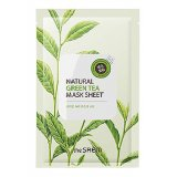 Маска тканевая с экстрактом зеленого чая Natural Green Tea Mask Sheet 28736 фото