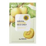 Маска тканевая с экстрактом киви Natural Gold Kiwi Mask Sheet 28738 фото