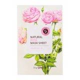 Маска тканевая с экстрактом розы Natural Rose Mask Sheet 28746 фото
