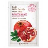 Маска для лица тканевая гранат Skin Planet daily fresh garden mask sheet POMEGRANATE 26911 фото