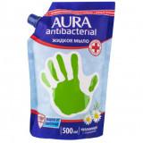 Жидкое мыло Aura с антибактериальным эффектом с ромашкой  фото